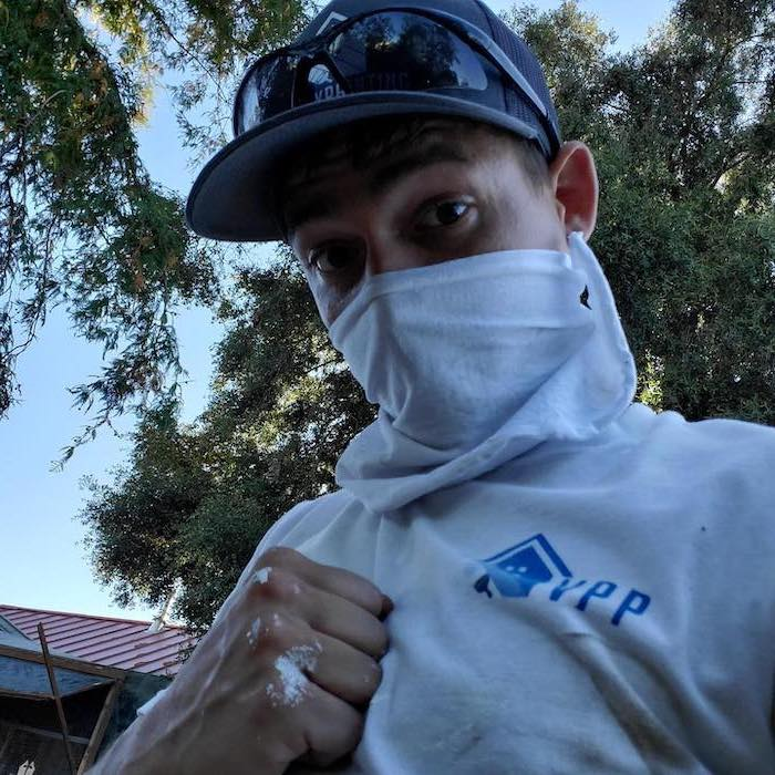 Levi Thomas owner of Valley Painting Pros